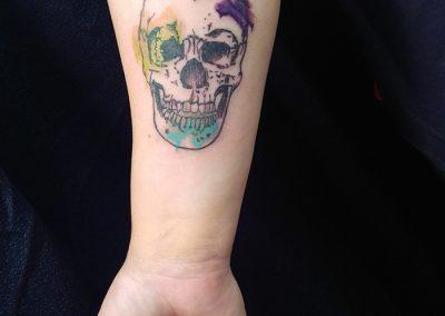 Skull - forearm
