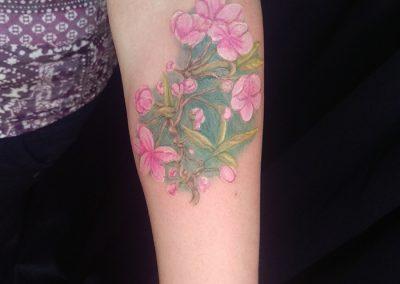 Flowers - forearm