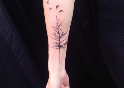 Tree Birds - forearm