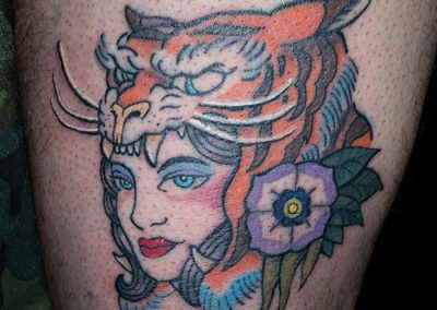 Woman - Tiger