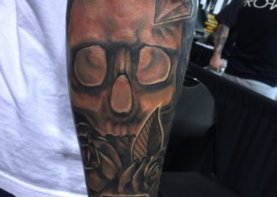 skull-diamond arm