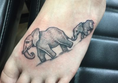 elephant-chain foot